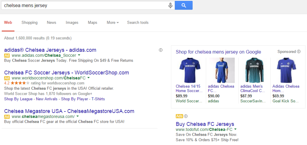 chelsea fc search results